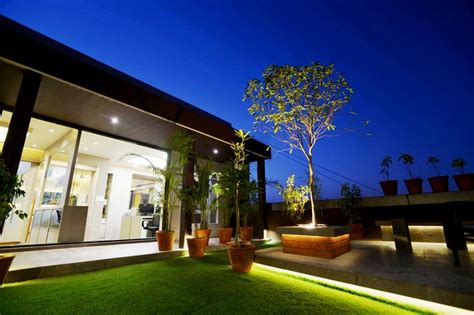 rajnysh rami studio  designs office terrace garden