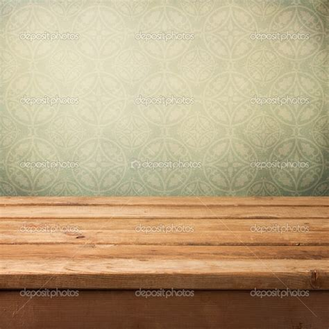 Vintage Wallpaper Table Wallmayacom