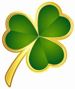 Irish Shamrock Clipart - Clipart Suggest