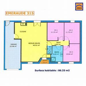 plans de construction pavillon maison crdit immobilier With delightful construire sa maison 3d 18 plan maison plain pied 3 chambres maison moderne