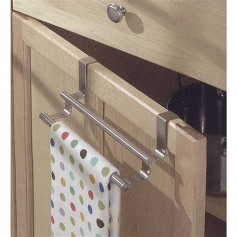 kitchen towel bars ideas cabinet door kitchen towel bar in kitchen