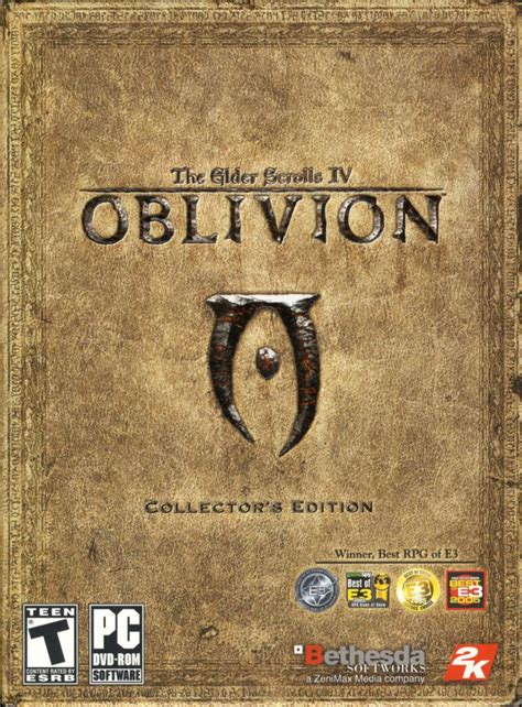 The Elder Scrolls Iv Oblivion Collectors Edition 2006