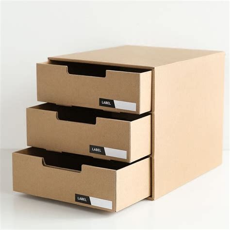 Filing Cabinet Dividers Cardboard - desk cardboard stationery file paper box organizer storage