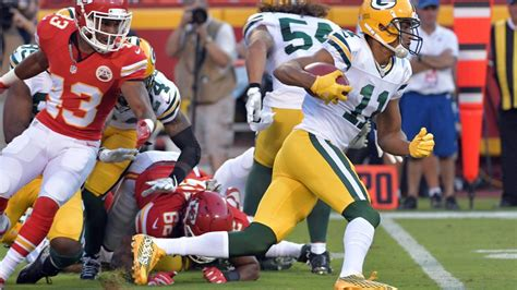packers  chiefs time tv schedule