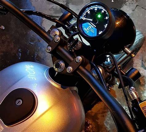 Speedometer Kawasaki W175 by Jual Speedometer Digital Bulat Retro Modern Bisa Untuk