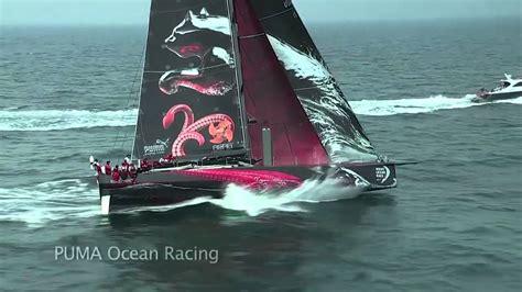 puma starts  transatlantic race volvo ocean race