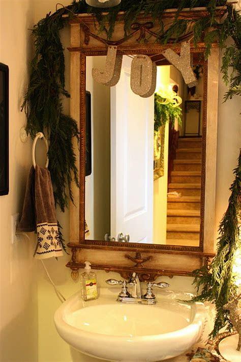 festive bathroom decorating ideas  christmas