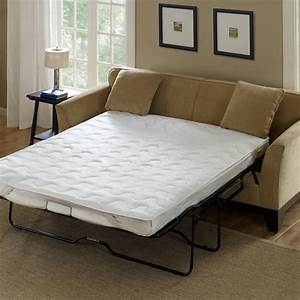light brown color microfiber sleeper sofa with white foam With best mattress for light sleepers
