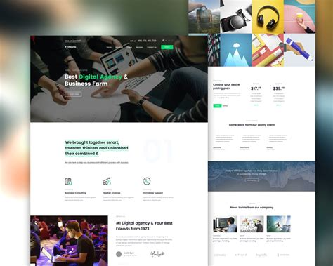Simple Website Templates Simple Business Website Template Psd Psd