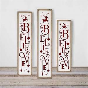 Believe, Reindeer, Vertical, Svg, Png, Dxf