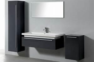 le meuble colonne de salle de bain With salle de bain design avec salle de bain pas cher