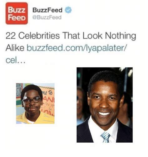 Buzzfeed Memes - buzz buzzfeed feed 22 celebrities that look nothing alike buzzfeedcomlyapalater cel to