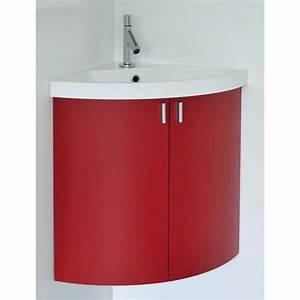Meuble D Angle : meuble lave mains d 39 angle suspendre 2 porte achat vente meuble vasque plan ensemble ~ Teatrodelosmanantiales.com Idées de Décoration