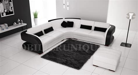 canapé deux angles canapé d 39 angle en cuir italien design et pas cher modèle