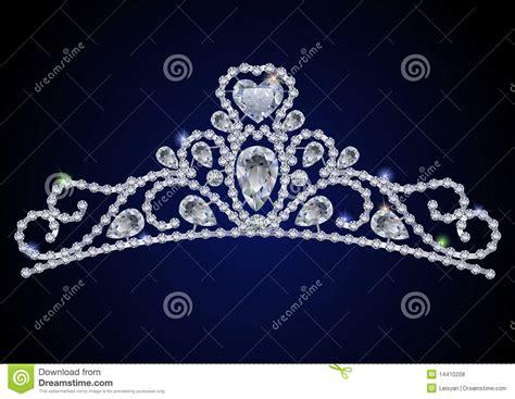diamond tiara royalty  stock  image