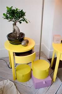 Table De Chevet Jaune : ikea stockhom 2013 home sweet home table de chevet chevet et mobilier de salon ~ Melissatoandfro.com Idées de Décoration