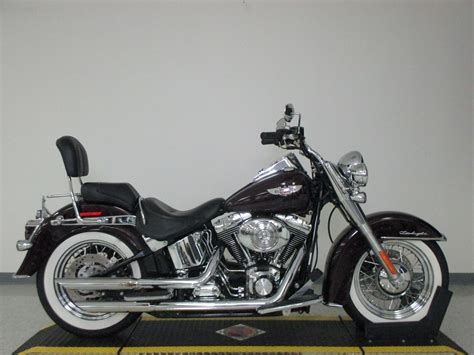 2006 Harley-davidson Softail Deluxe Flstn Motorcycle From