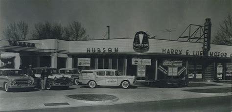 hudson motor car company dealerships p