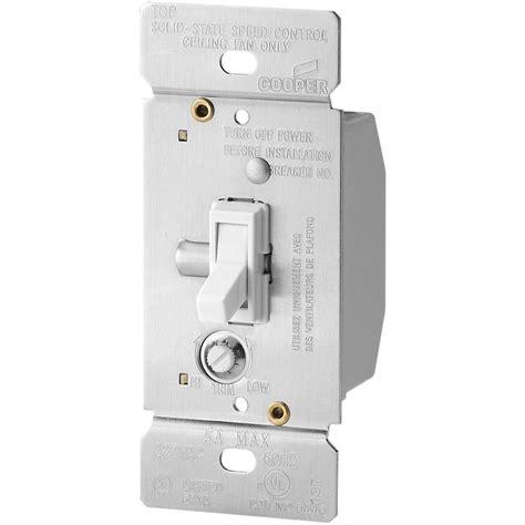 4 wire fan switch home depot eaton 5 amp single pole variable fan speed control white