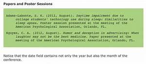 apa conference presentation citation format