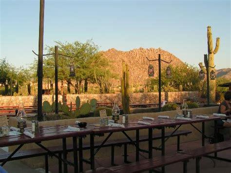 cravatte picture of pinnacle peak patio steakhouse