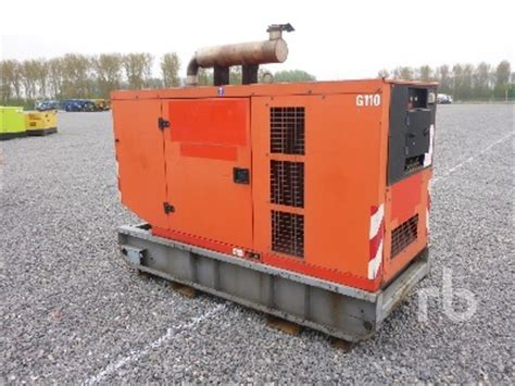 ingersoll rand g110 generator set generator set from netherlands for sale at truck1 id 1355597