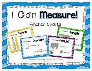 Vocabulary Anchor Chart I Can Measure Anchor Charts By Angelia Extra Special