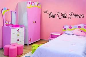 Wall decor girls bedroom rumah minimalis