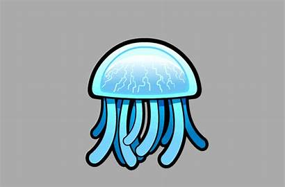 Jellyfish Lep Character Enemy Animation