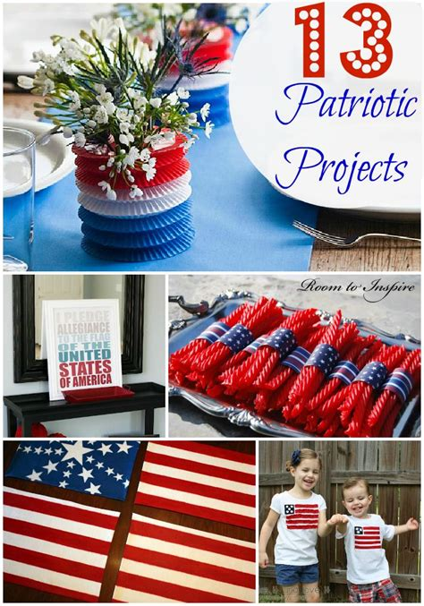 4th of july diy decorations 13 fourth of july projects crafty ideas pinterest decorating ideas easy diy and projects