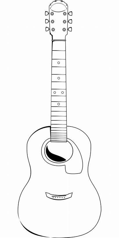 Guitar Acoustic Clipart Clip Electric Gitarre Guitare