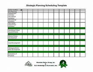 19 strategic planning scheduling template With strategic planning calendar template