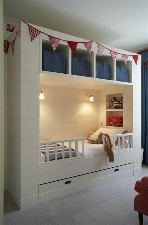 Kinderzimmer Junge Bett kleine r 228 ume mit praktischem stauraum ausstatten ideen