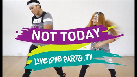 Not Today By Bts  Zumba  Live Love Party  Dance Fitness