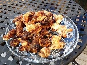 less fried chicken wings recipe