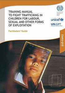 Training Manual To Fight Trafficking In Children For