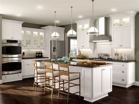 High Quality Crystal Kitchen Cabinets #6 Simply White
