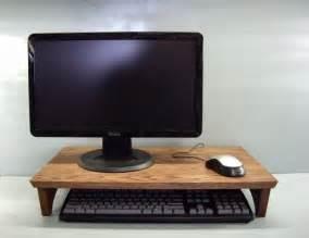 Computer Monitor Keyboard Riser Stand