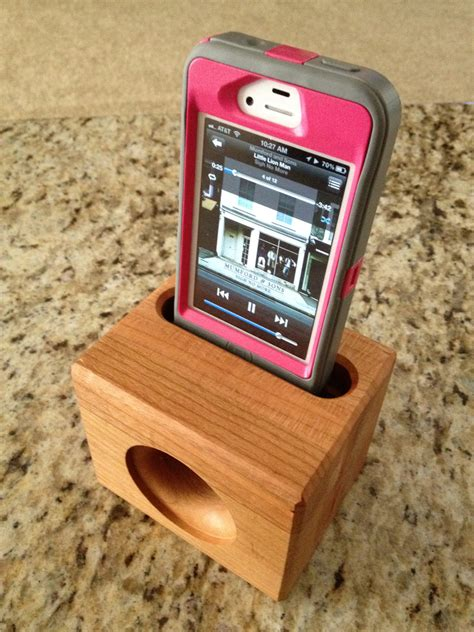 wooden iphone speaker wooden iphone speaker stand no electricity needed makes a