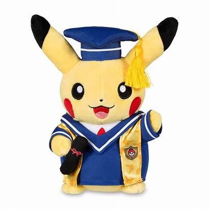 Pikachu Plush Graduate Pokemoncenter Celebrations Pokemon Center