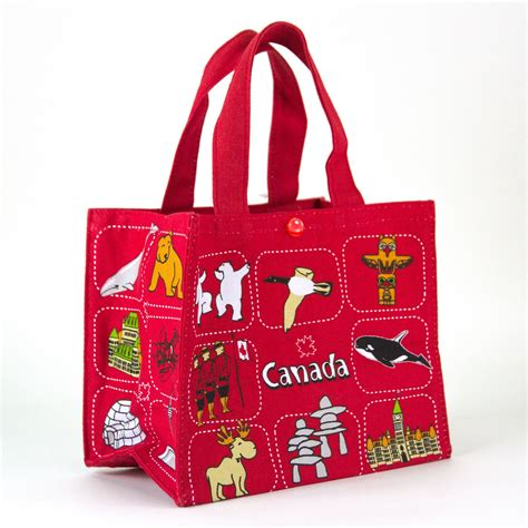 interior home colour canada souvenirs gifts canadian symbols lunch bag