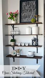 How to build open stained shelves 11 Magnolia Lane