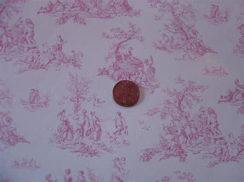 Red And White Toile Wallpaper Wallpapersafari