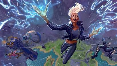 Fortnite Chapter Storm Cool Wallpapers Background 4k
