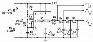 gt oscillators gt multiple waveform generator circuit With tutorial for the waveformer a timing diagram editor and digital