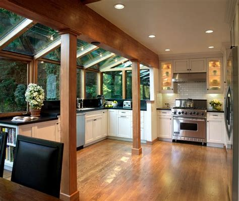 galley kitchen extension ideas house designs featuring glass extensions enjoy nature