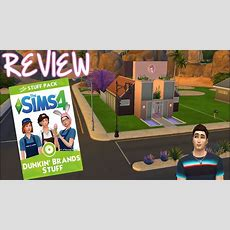 Review Dunkin' Brands (dunkin' Donuts)  Sims 4 Youtube