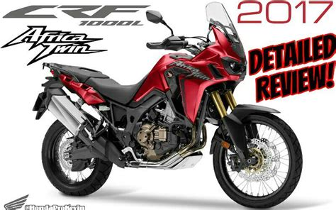 2017 Honda Africa Twin Review Of Specs / Changes