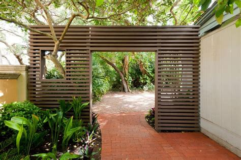 landscaping screens mid century landscape screen google search new house landscape pinterest modern fence