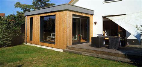 cuisine en zinc extension bois agrandissement maison 44 woodéal